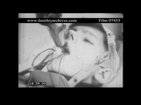 Ivan Pavlov's Experiments on Men.  Archive film 97453