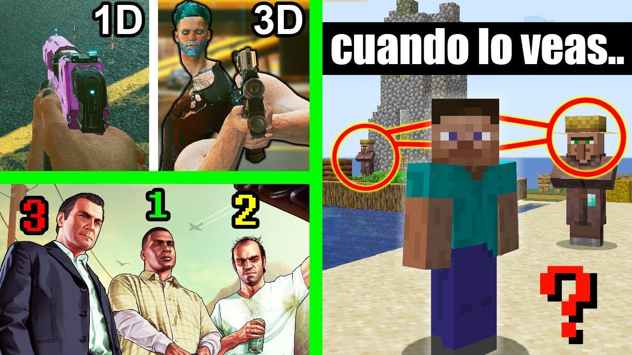 7 Descubrimientos de Videojuegos que NO Puedes Notar