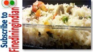 Indian Rice Pilaf #finediningindian