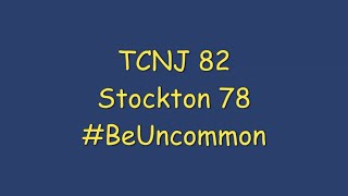 TCNJ @ Stockton (Full Game)