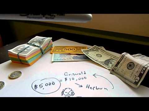 Fiat Paper Money, Legal-Tender Laws & Gold