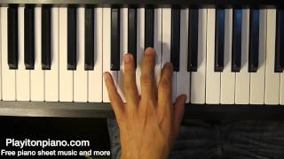 How to Play Dead Presidents by Jay z on piano (w/ Free sheet music)
