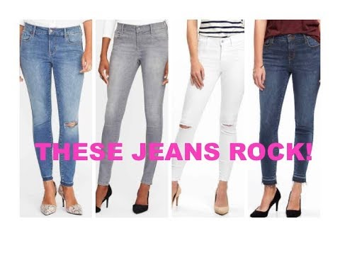 These Old Navy Sculpt Jeans Rock!