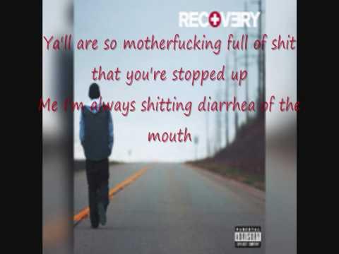 Eminem - Untitled ( Here We Go ) - Lyrics On Screen [ HQ Sound ]