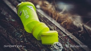 видео Шейкер BlenderBottle ProStak 22oz