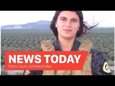 News Today - Inside Syria-Media Center for Kurdish women fight blew themselves up killing many sold