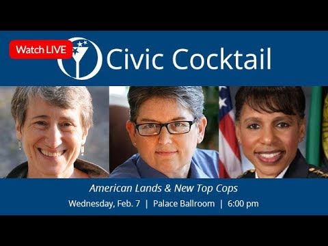 Civic Cocktail Live: American Lands & New Leadership