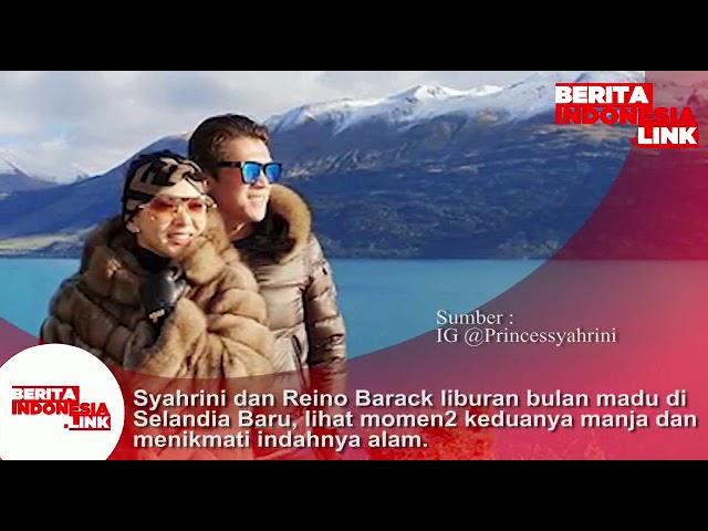 Syahrini dan Reino Barack liburan bulan madu di Selandia Baru, lihat momen2 manja mereka.