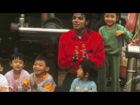 Michael Jackson and Children of the World