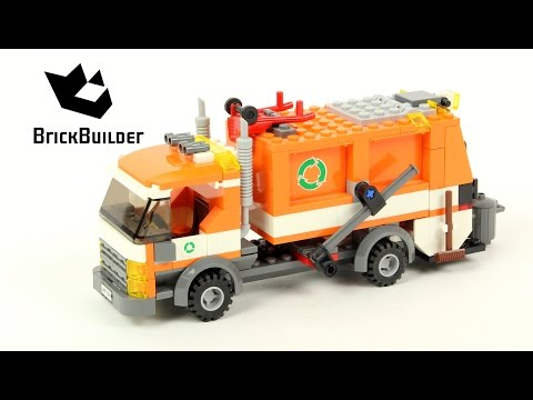 Download Lego City 7991 Recycle Truck - Lego Speed Build