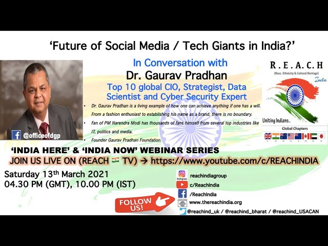 Future of Social Media / Tech Giants in India?'