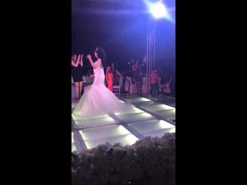 Adel & Merna's wedding party entrance with Hussein Alsalman
