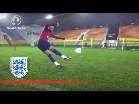 Top Finishing - 1-2 Pass & Shoot (England U21) | Inside Training