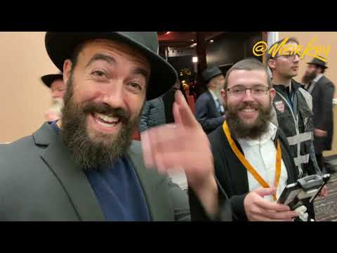 I DANCED WITH OVER 5,000 RABBIS! (Kinus Hashluchim)