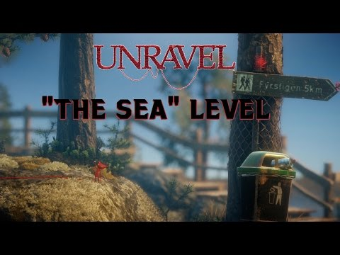 """The Sea"" level (solving puzzles) - Unravel game [EARLY ACCESS]"