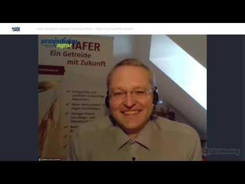 praxisdialog.agrar: #02   Hafer erfolgreich anbauen & vermarkten. Was muss beachtet werden?