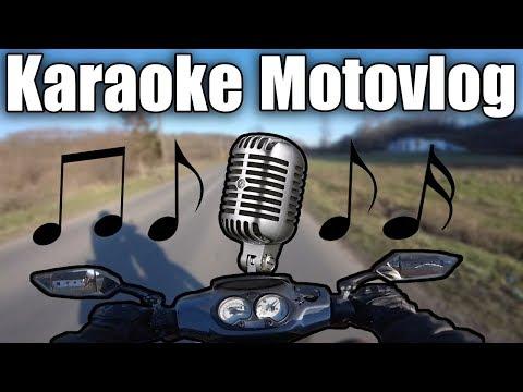 Mikrofon je vaš - KARAOKE MOTOVLOG (Odgovor na challenge)