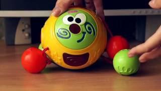 Детская игрушка интерактивный музыкальный мяч Fisher-price, обзор