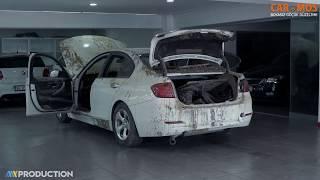 Sel Sonrası Çamurda Kalan ''BMW'' Detaylı Temizlik