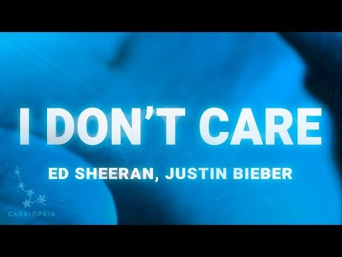 Ed Sheeran, Justin Bieber – I Don't Care (Lyrics)