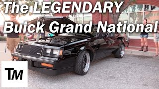 The LEGENDARY Buick Regal Grand National - Real GN Startup and Rev