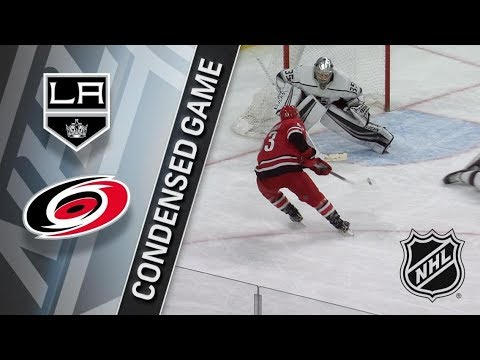 Los Angeles Kings vs Carolina Hurricanes – Feb. 13, 2018 | Game Highlights | NHL 2017/18. Обзор