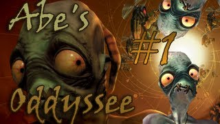 Oddworld Abe's Oddysee (Part 1) - The beginning