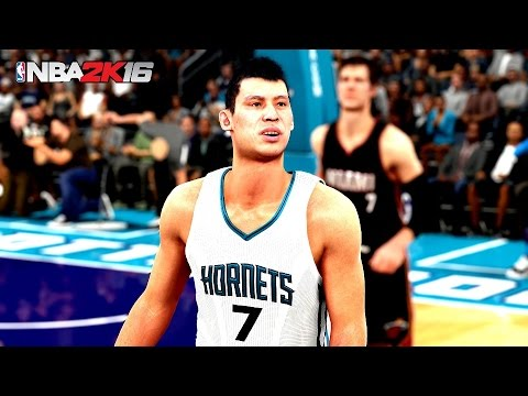 NBA 2K16 Jeremy Lin does LINSANITY in Game 4 vs Miami Heat