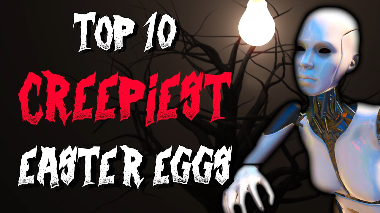 Top 10 Crazy WTF Easter Eggs In Video Games - YouTube