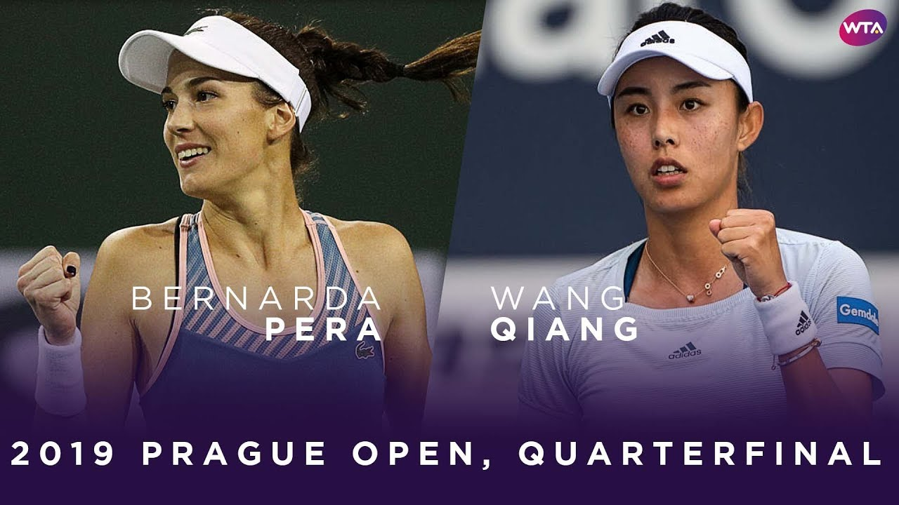 Bernarda Pera Vs Wang Qiang 2019 Prague Open