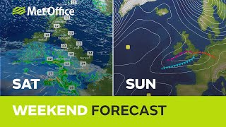 Weekend weather – Rain in the south, brighter in the north