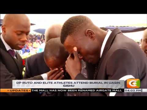 Former world 400m hurdles champ laid to rest