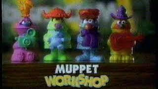 McDonald's - Muppet Workshop Happy Meals - 1994