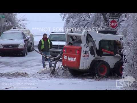 01-16-17 Dodge City, KS - Ice Storm and Freezing Rain