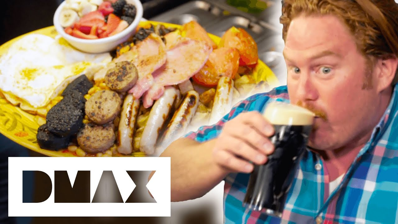 Casey Webb VS The Guinness Irish Food Challenge | Man V Food