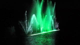 Поющие фонтаны. Версаль. Париж.(Один из