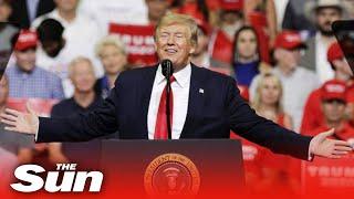 Live: Trump campaigns in Grand Rapids, Michigan