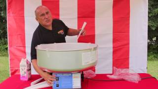 How to make Cotton Candy with a Gold Medal Auto Breeze