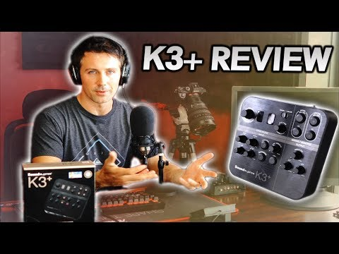 A SOLUTION for Streamers & Broadcasters..!? Creative K3+ Audio Interface Review