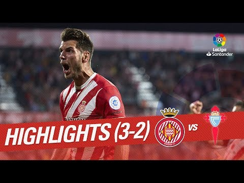 Resumen de Girona FC vs RC Celta (3-2)