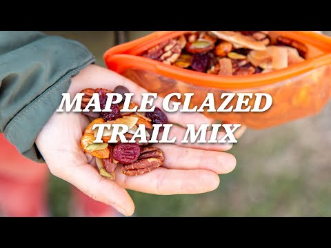How to make the perfect hiking snack (maple glazed trail mixed) REI camping recipes