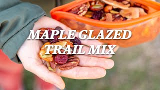 How to make the perfect hiking snack (maple glazed trail mixed) - REI camping recipes