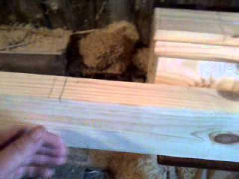 Филенчатая дверь часть1 разметка брусков