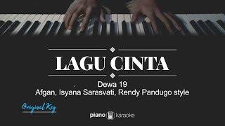 Lagu Cinta (Original Key) Dewa 19 [AIR Project Style] (Karaoke Piano Cover)