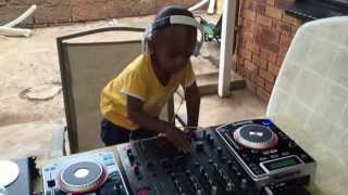 Dj Arch Jnr Killing it on the decks
