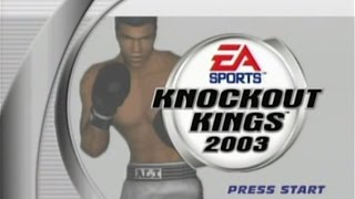 Knockout Kings 2003 On Gamecube