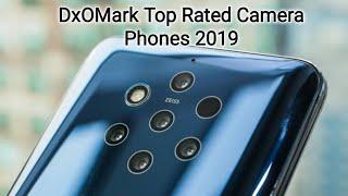 2019 DxOMark Top Rated Camera Phones