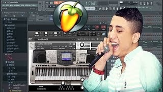 FAYCEL SGHIR - TWAHACHTEK ANA version classic (lyrics karaoke) instrumental Piano project Fl studio