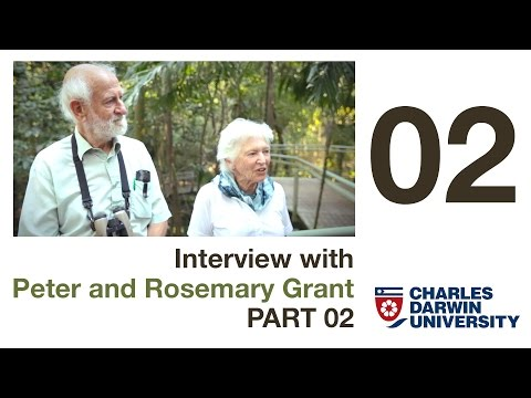Why are Darwin's Finches so unique? - Grants Interview part 02