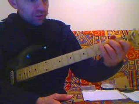 cours guitare les barres  position 2